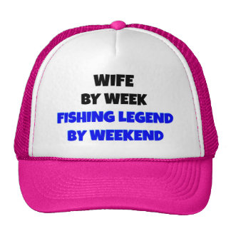 Fishing Legend Wife Cap