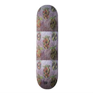 five pineapple custom skateboard