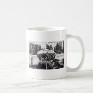 Five Scenes of Oxford England Vintage Basic White Mug