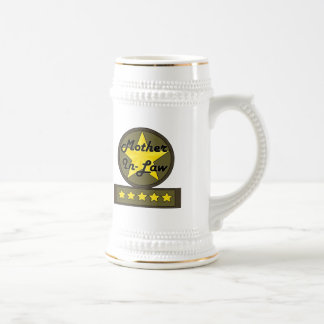 Five Star Mother-In-Law Mothers Day Gifts Beer Steins