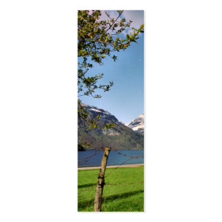 Fjord Idyll Bookmark Pack Of Skinny Business Cards