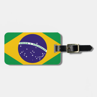 Flag of Brazil Luggage Tags