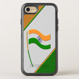 Flag of India OtterBox Symmetry iPhone 7 Case