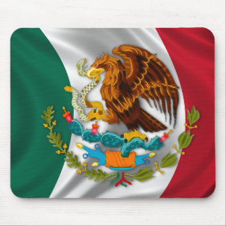 Flag of Mexico, Coat of Arms Mouse Pad