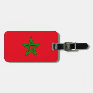 Flag of Morocco Easy ID Personal Bag Tag