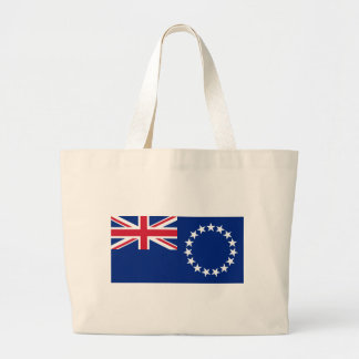 Flag_of_the_Cook_Islands Jumbo Tote Bag