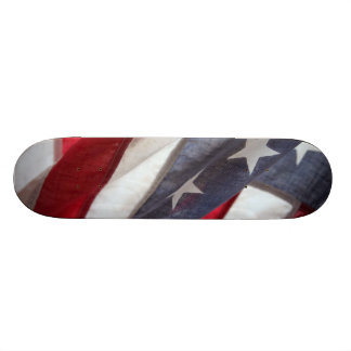 Flag of United States 21.6 Cm Skateboard Deck