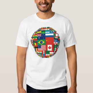 Flags by Land Area (Apparel) T Shirt