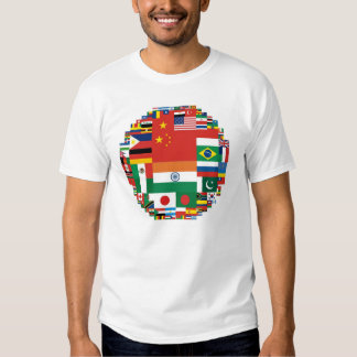 Flags by Population Shirts