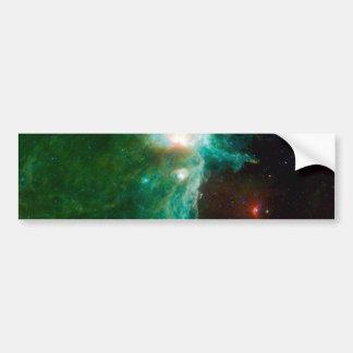 Flame Nebula NASA Bumper Sticker