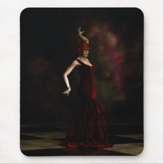 Flamenco Dancer Mouse Pad