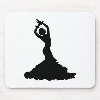 Flamenco woman mouse pad