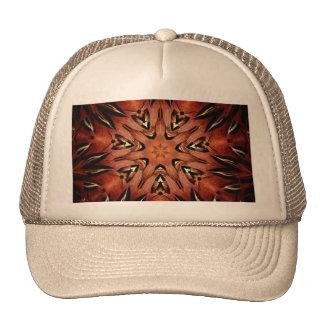Flaming Feather Kaleidoscope Cap