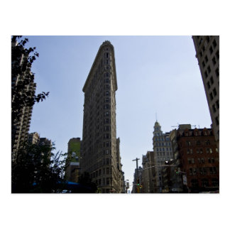 flat iron building postcard