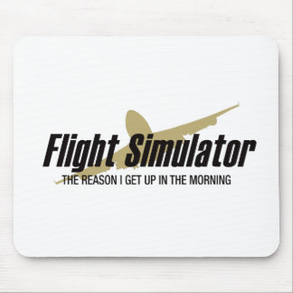 Flight Simulator Reason I get Up Mouse Pad