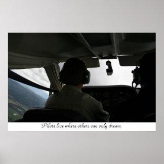 Flight Training Poster