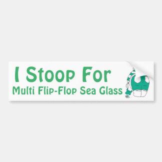 Flip Flop Multies rock my world Bumper Sticker