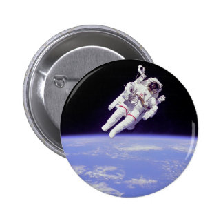 floating 6 cm round badge