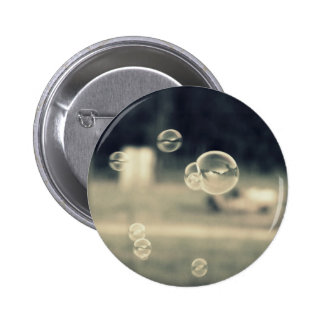 Floating Bubbles 6 Cm Round Badge