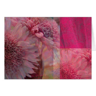 Floral Arrangement Collage Card