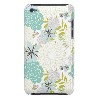 Floral background iPod Case-Mate cases