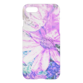 Floral Damask Kpop Aesthetic iPhone 7 Case