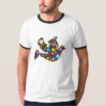 Floral Dove of flowers Tee Shirt