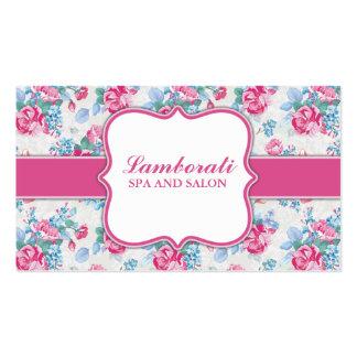Floral Pattern Elegant Fashion Designer Stylist Pack Of Standard Business Cards