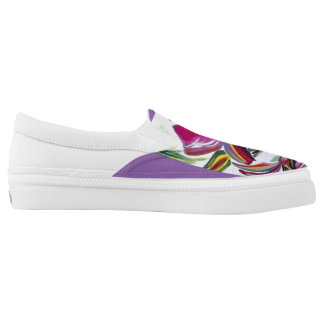 Floral shoes printed shoes