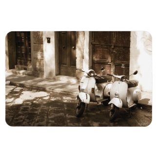 Florence Scooters Rectangular Photo Magnet