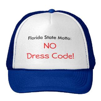 Florida state motto - No Dress Code - CAP