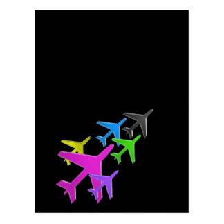 flotte d'avion cadeaux pour les enfants AEROPLANE Postcard