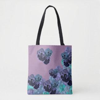 Flower Storm Tote Bag
