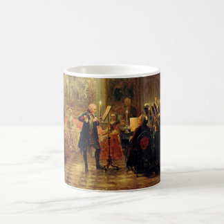Flute Concert with Frederick the Great Morphing Mug