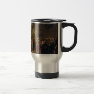 Flute Concert with Frederick the Great Sanssouci Stainless Steel Travel Mug