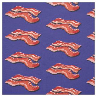 Flying Bacon Fabric Design