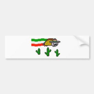 Flying Taco Cat Bumper Sticker