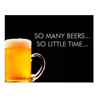 Foamy Beer Mug Postcard