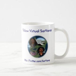 Follow Virtual SarVana Basic White Mug