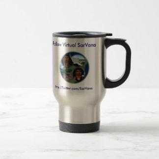 Follow Virtual SarVana Stainless Steel Travel Mug