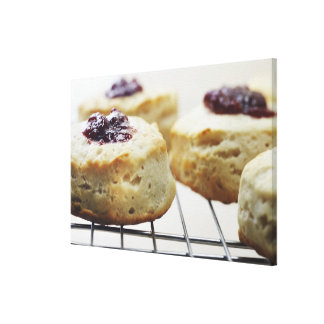 Food, Food And Drink, Buttermilk, Biscuit, Gallery Wrapped Canvas