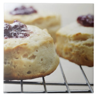 Food, Food And Drink, Buttermilk, Biscuit, Large Square Tile