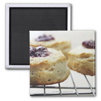Food, Food And Drink, Buttermilk, Biscuit, Square Magnet