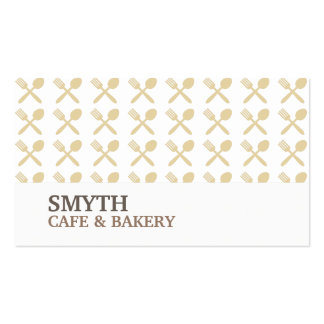 FOODIE PATTERN No. 4 Business Card