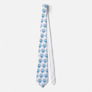 Foosball Skull Tie