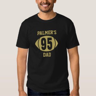 Football Dad 95 Gold T-shirt
