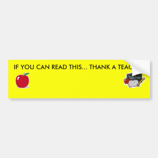 For all you teachers out there ;) bumper sticker