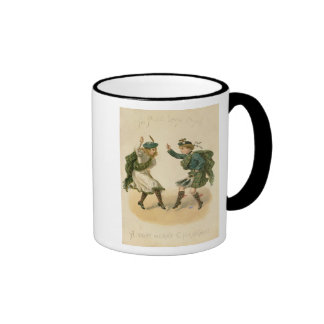 For Auld Lang Syne - A Right Merry Christmas' Ringer Mug