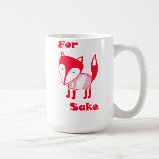 For FOX Sake! Basic White Mug
