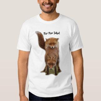 For Fox Sake! Tees